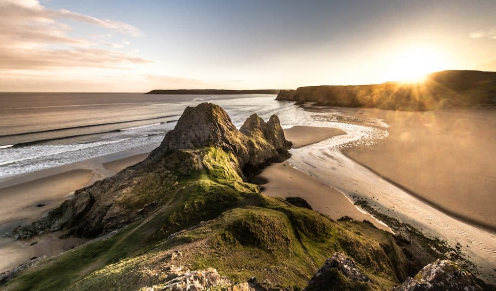 Beautiful Gower Peninsula Wales