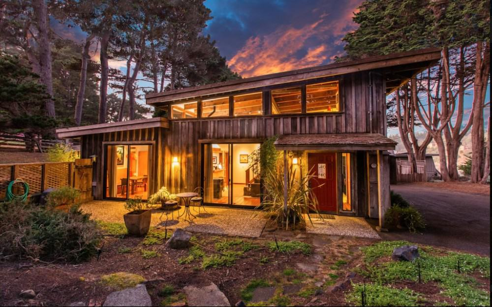 Pet-friendly self-catering cottage Mendocino
