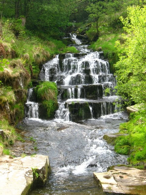 Glyncorrwg Waterfall, Glyncorrwg
