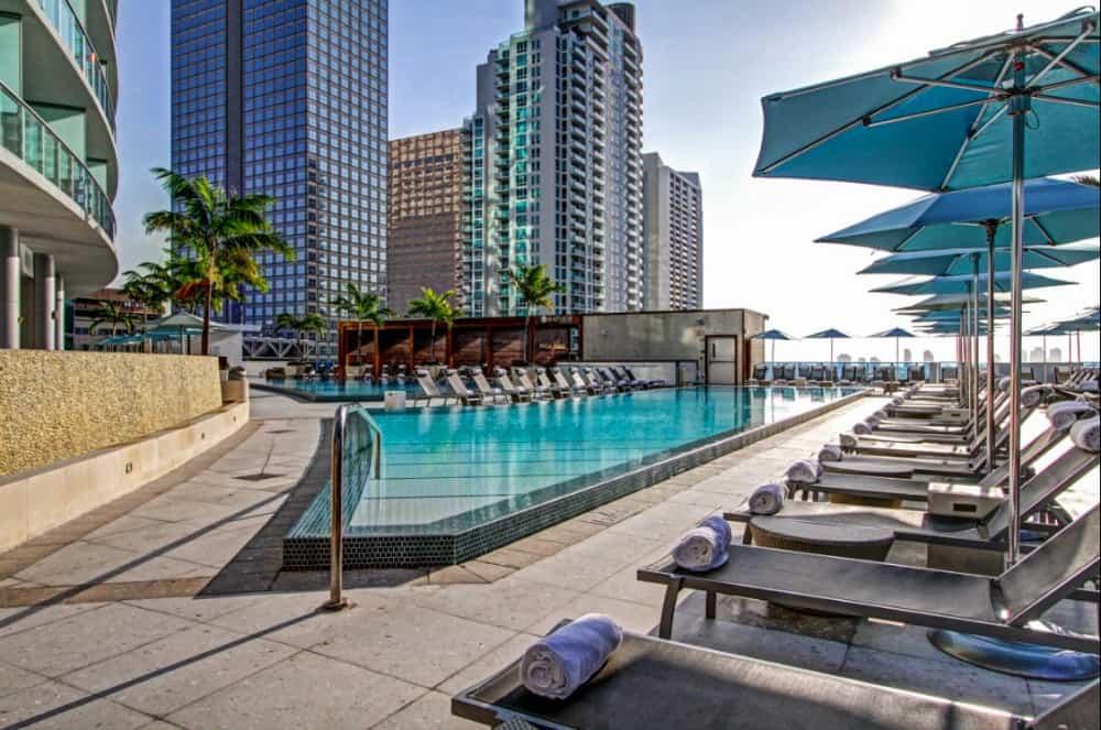 Modern dog-friendly hotel on Miami River