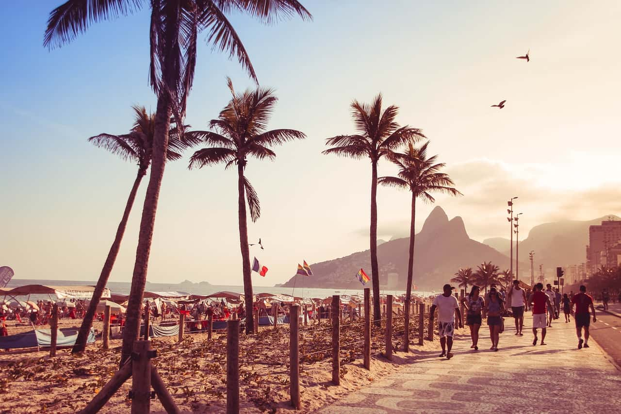 rio de janeiro beach - best places to surf in the world