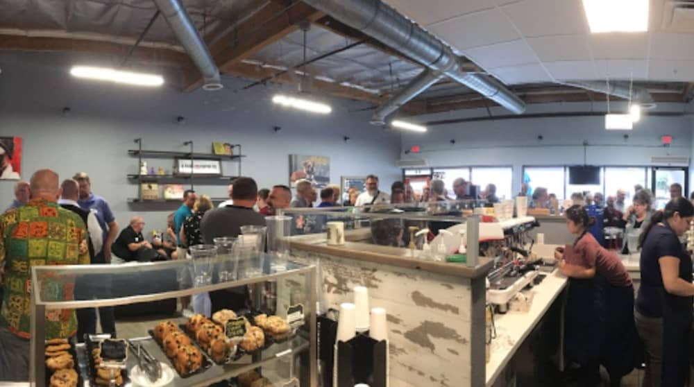4 Paws Coffee Co. - pet friendly place in Palm Springs
