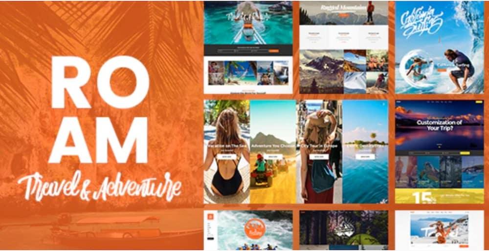 Roam - Travel & Tourism Theme