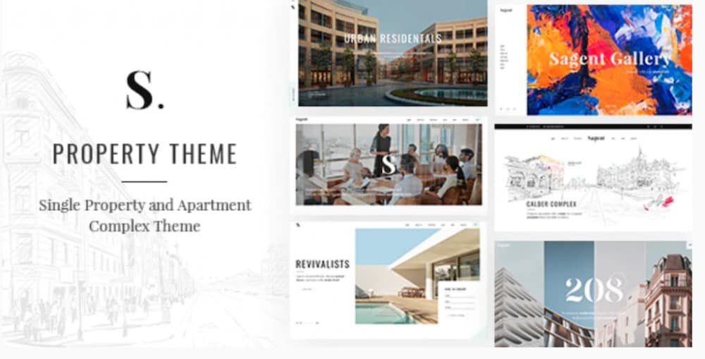 Sagen - Single Property and Apartment Complex Theme