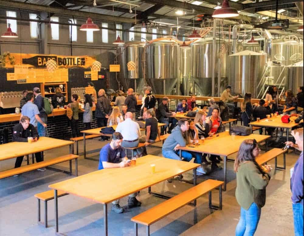 Barebottle Brewing Company San Francisco