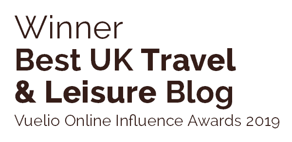 Winner Best UK Travel & Leisure Blog 2019