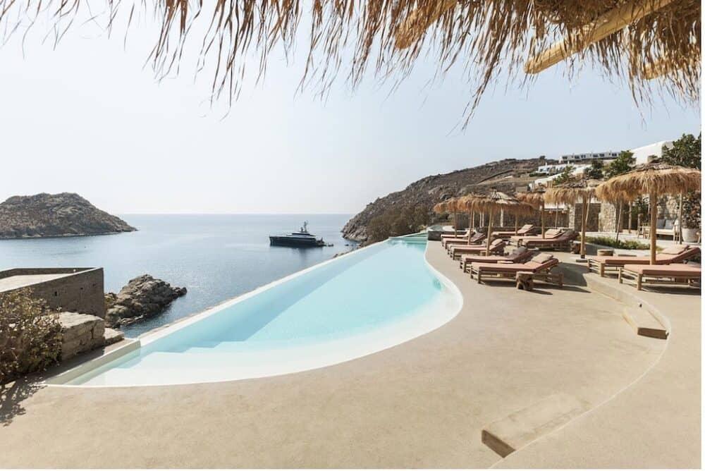 Beautiful hotel in Mykonos
