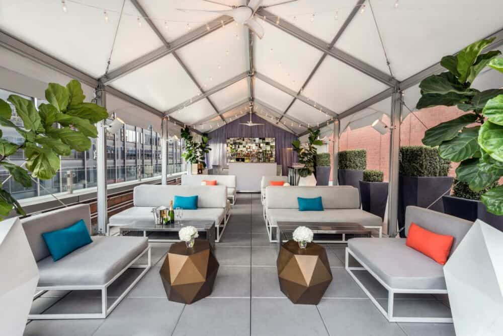 Cool design hotel in New York