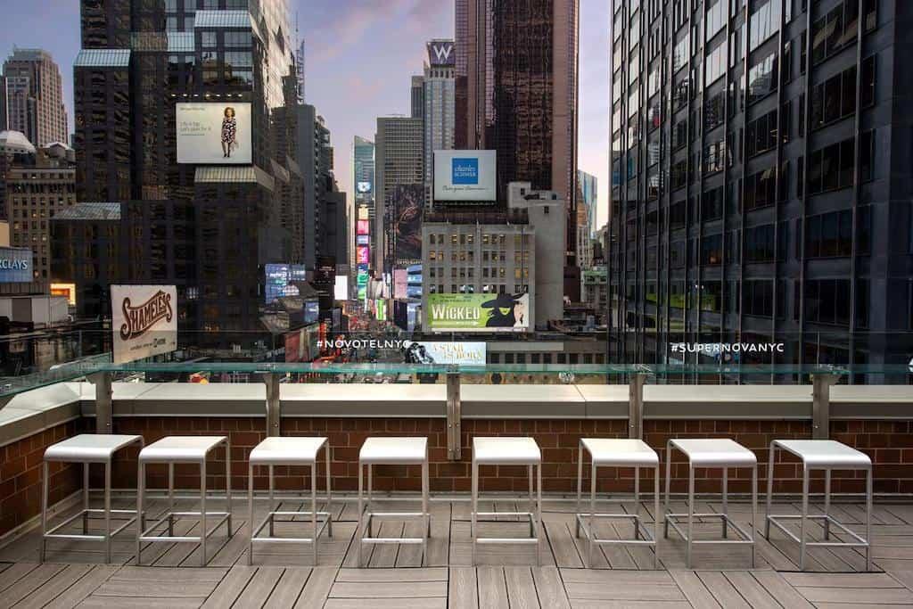 Creative hotel in Manhattan