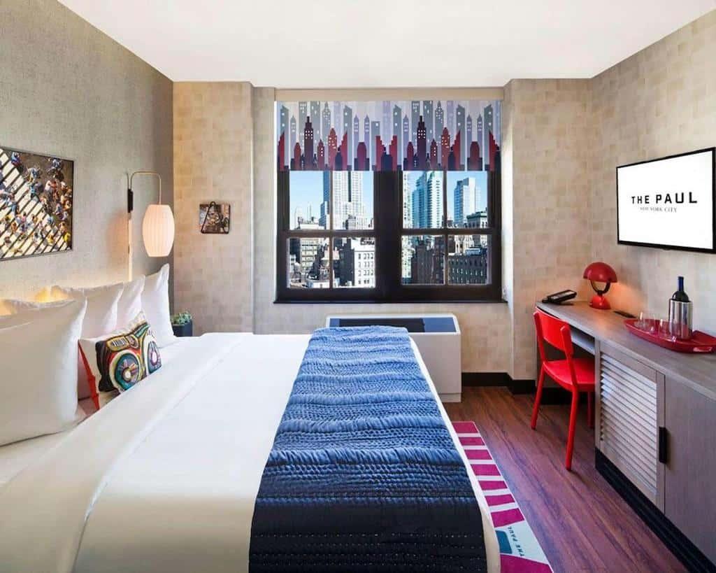 Funky hotel in New York