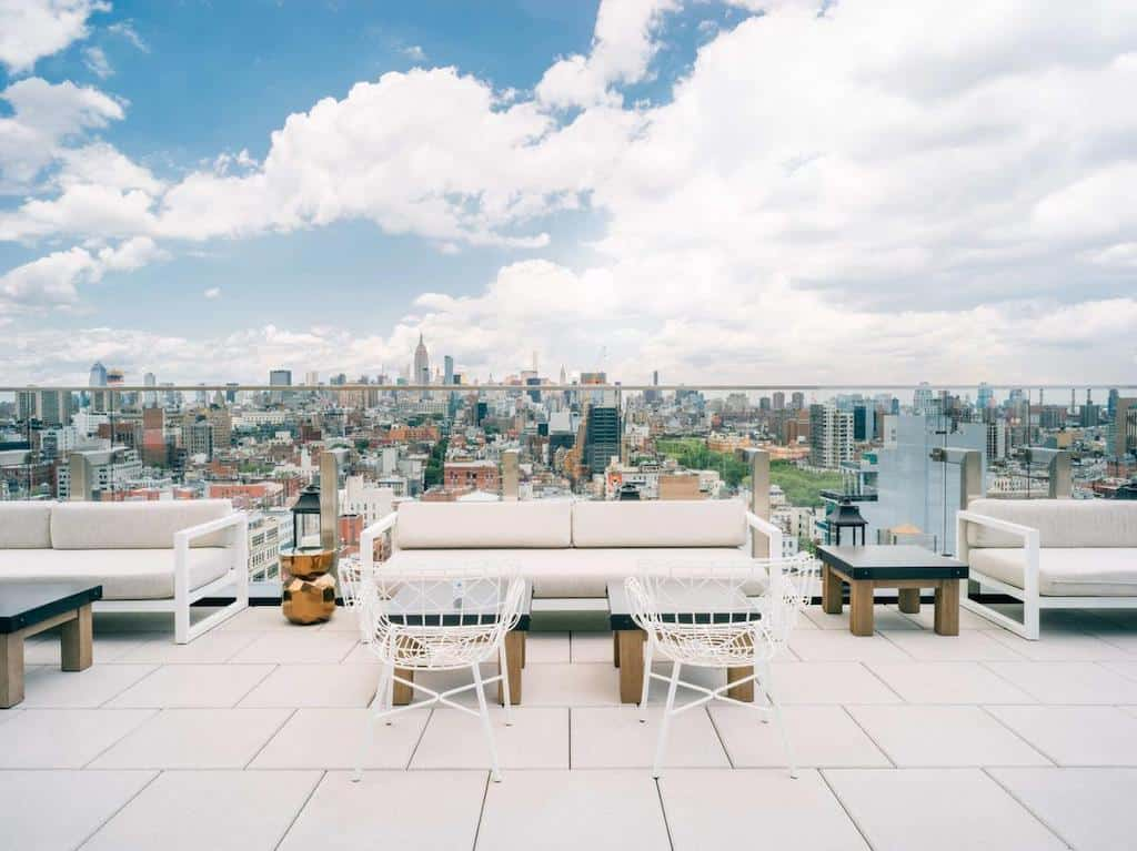 Hottest hotels in NYC