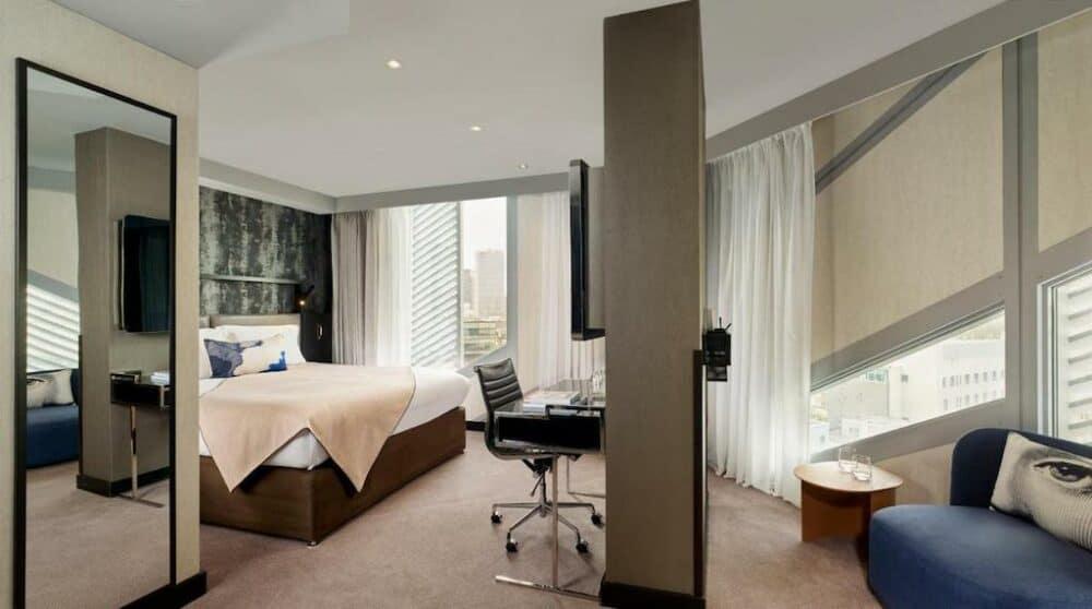 Modern hotel in London
