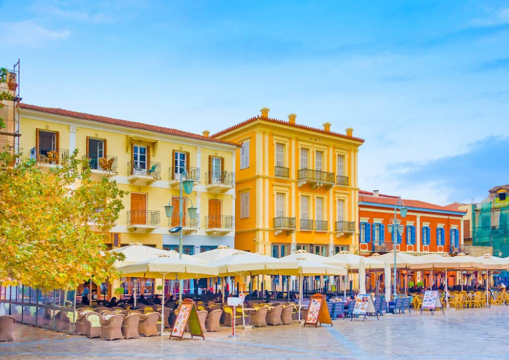 Nafplio - great places to visit in Greece