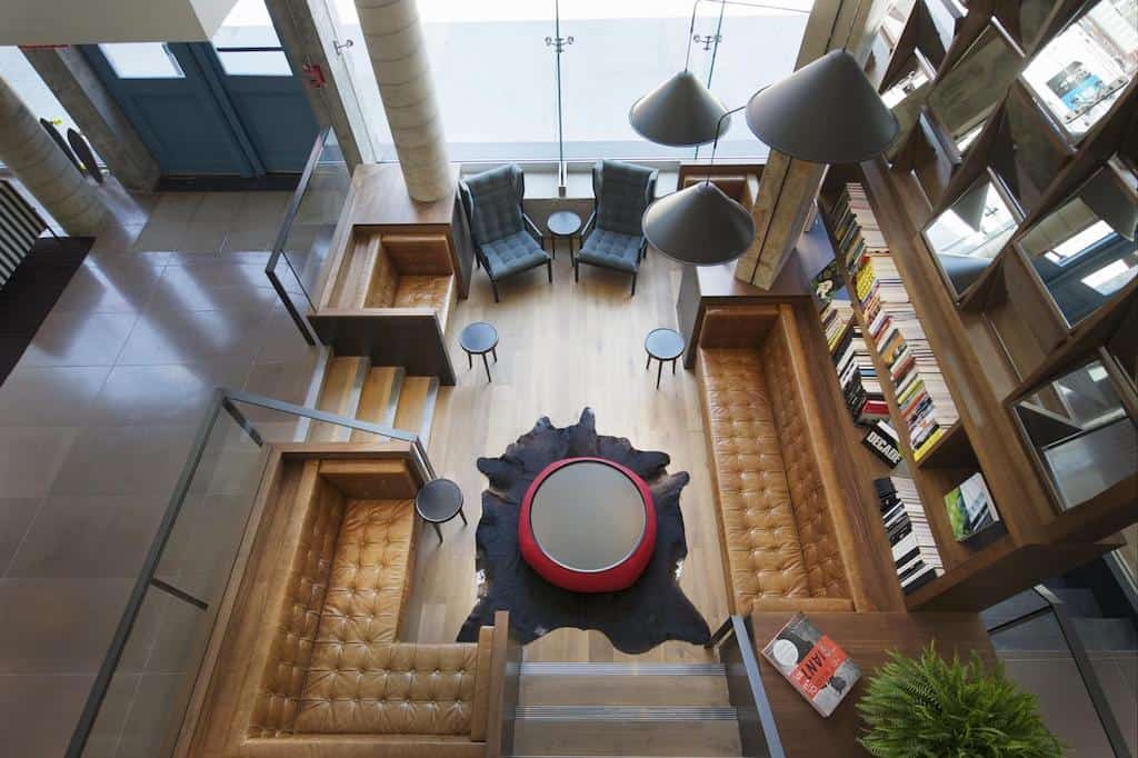 Stylish boutique hotel in New York