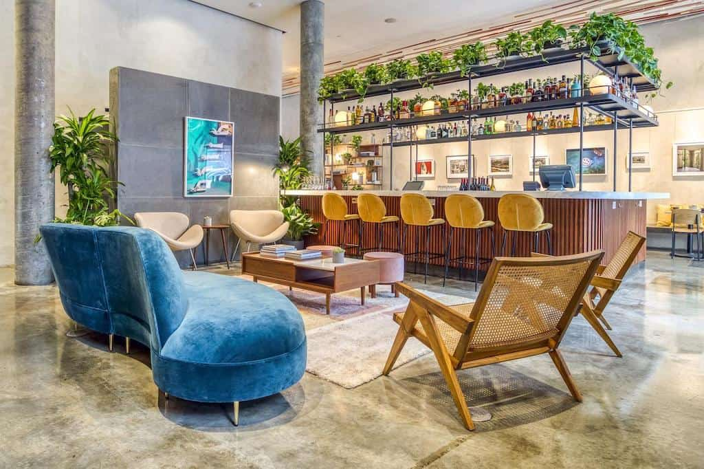 Trendy boutique hotel in New York