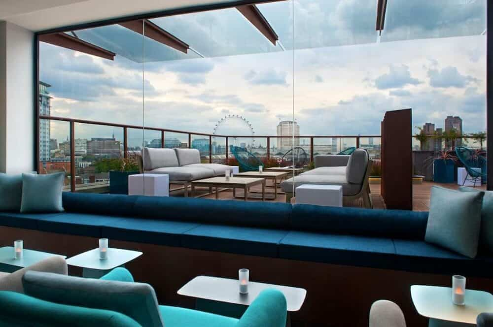 Trendy hotel in London
