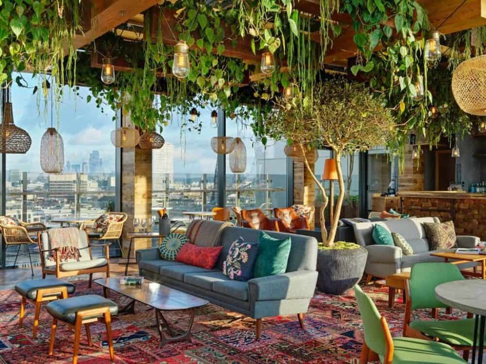 Treehouse Hotel London - unique hotels in London