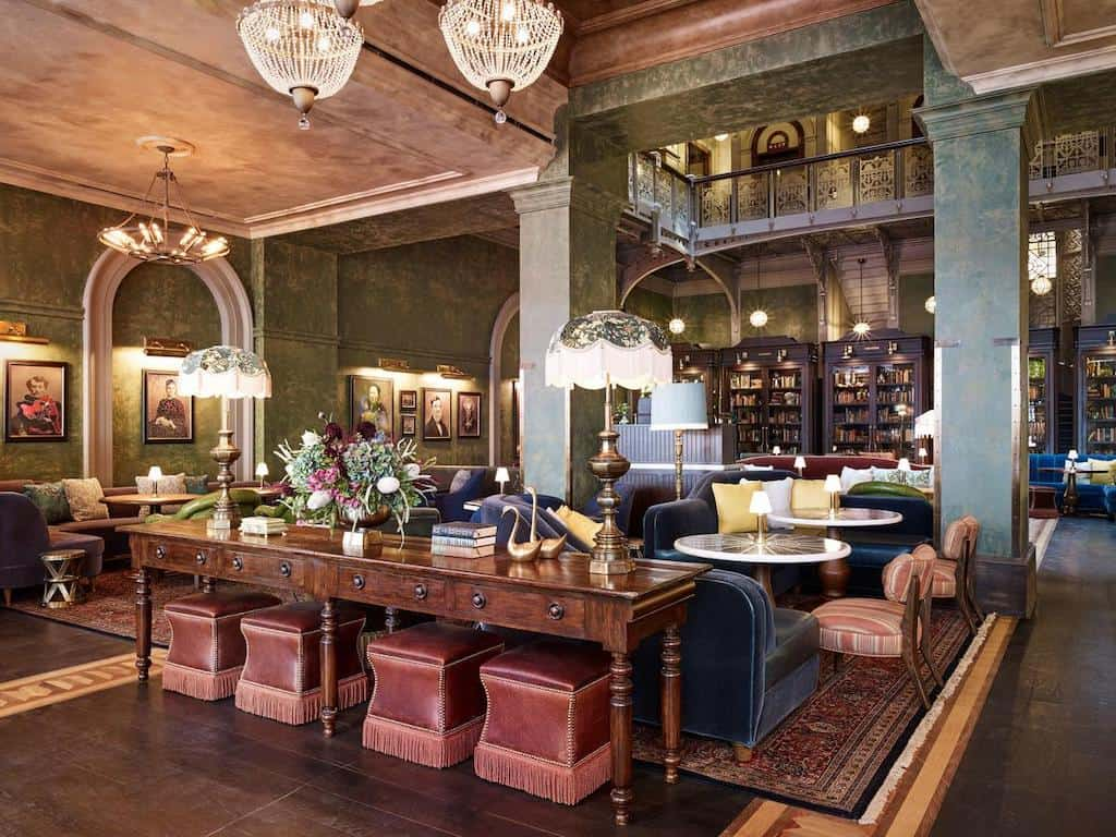 Vintage style hotel in New York