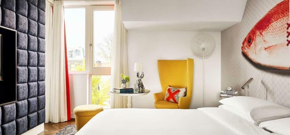 Design hotel in Amsterdam