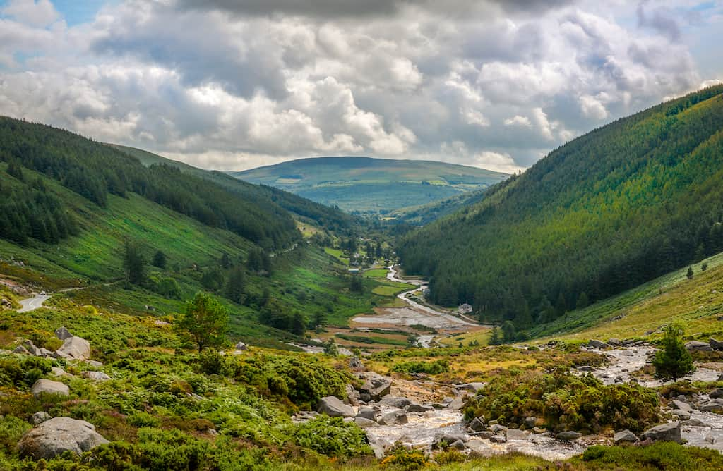 County Wicklow, Ireland - beautiful countryside in Ireland