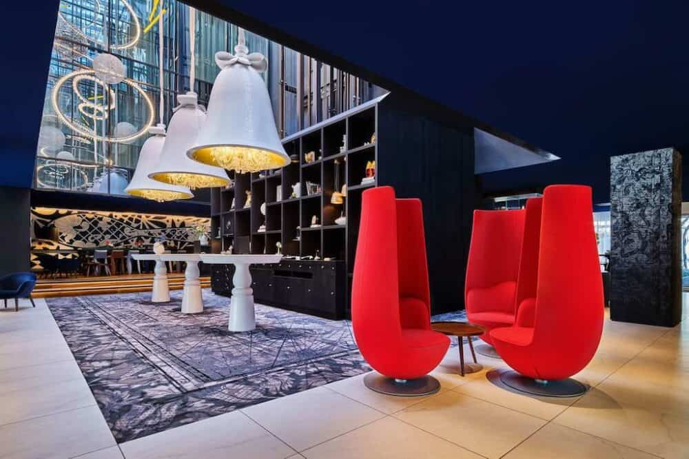 Modern hotel in Amsterdam