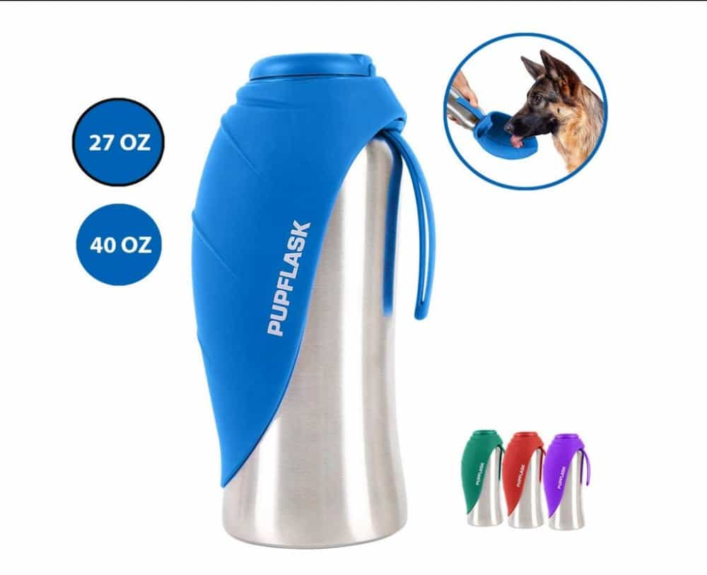 PupFlask Portable Water Bottle