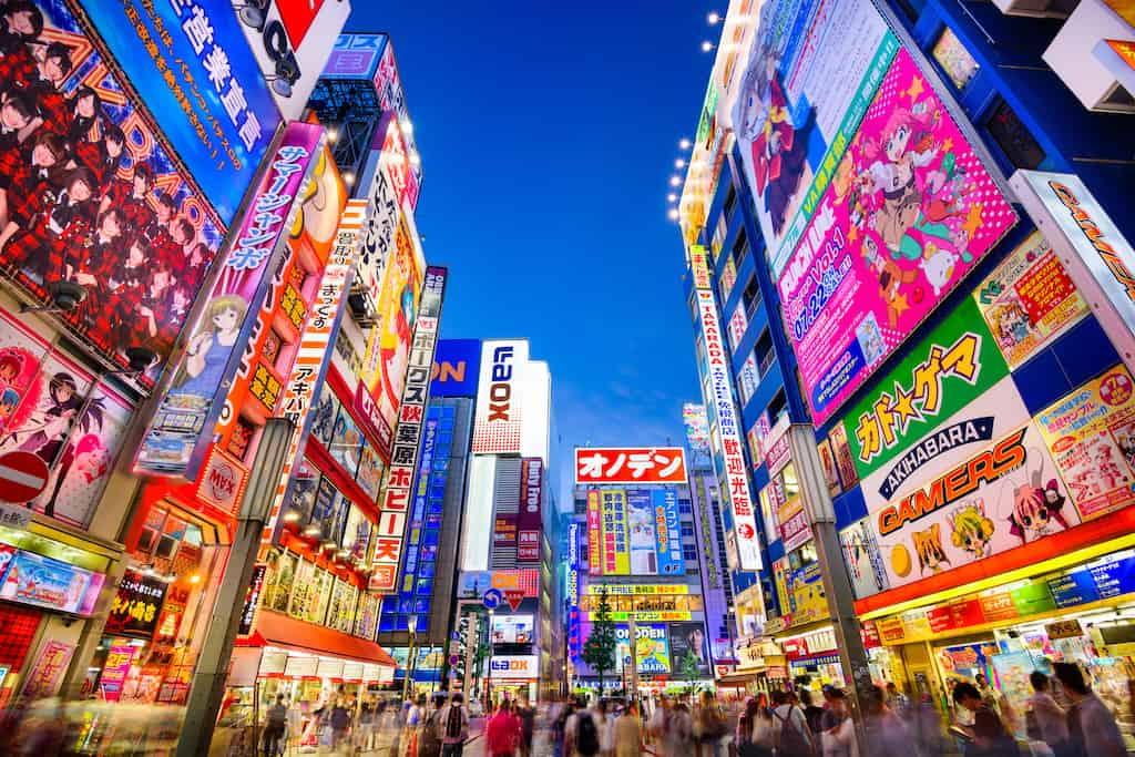 Cool Tokyo - places to visit in Japan