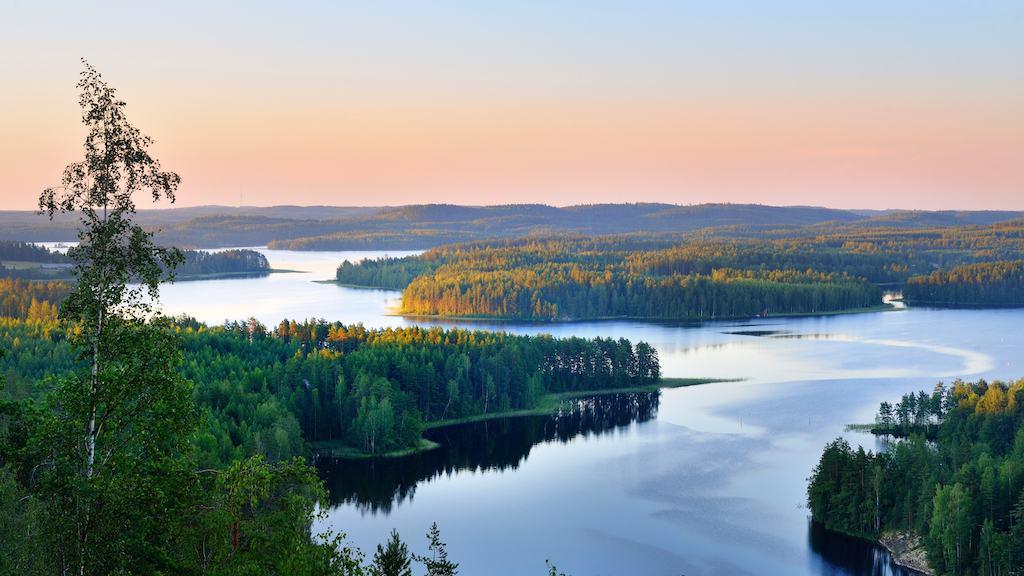 Lake Saimaa Finland