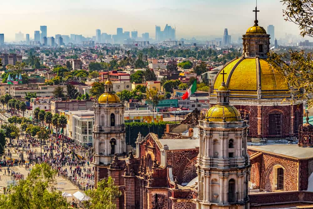 Mexico City - best places to visit in Mexico