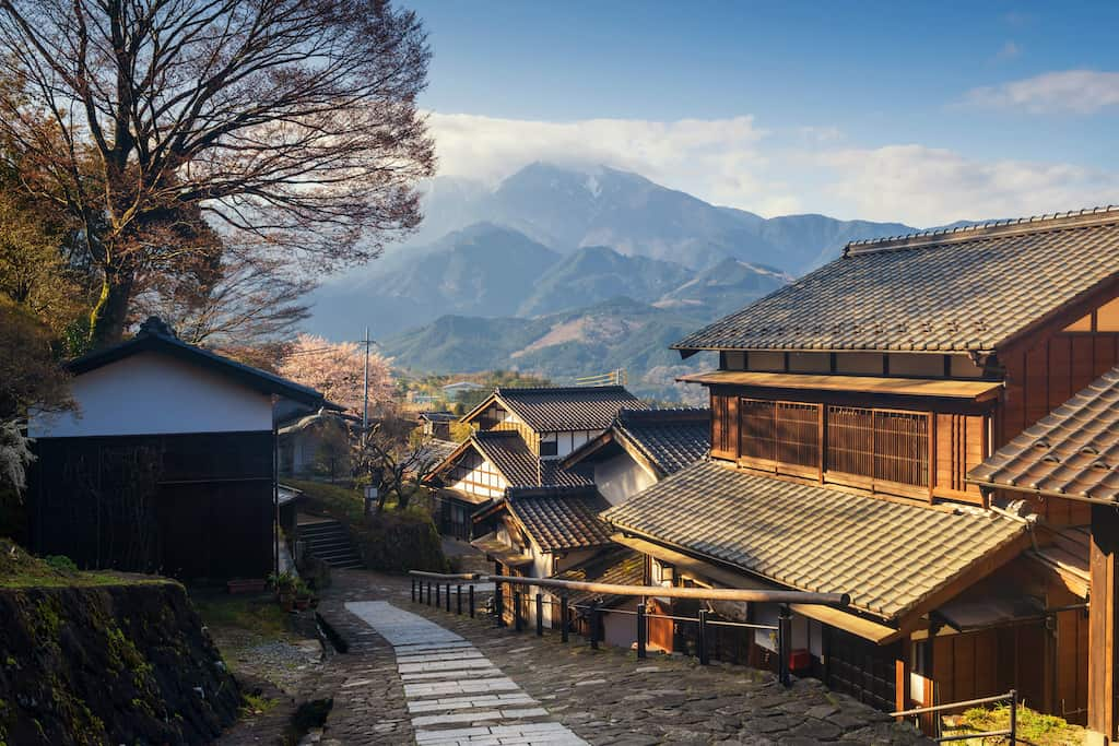 Tsumago - places to visti in Japan