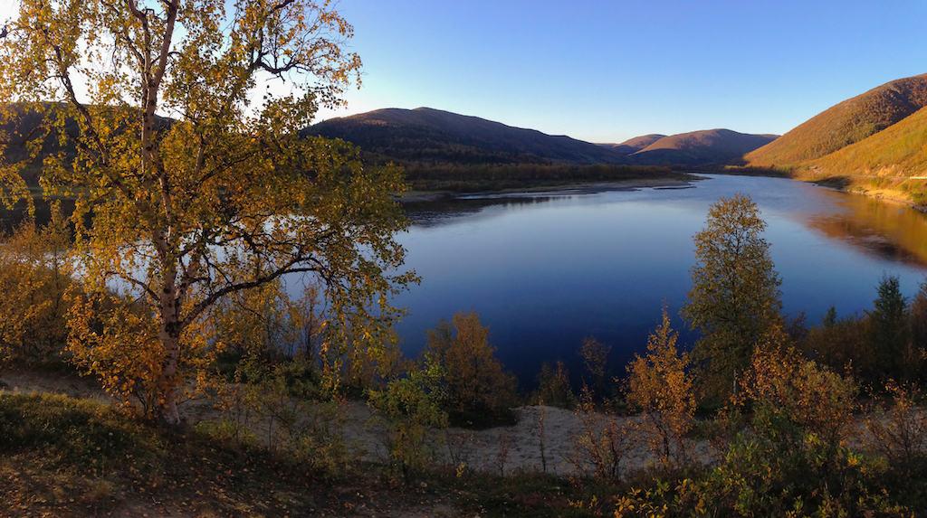 Utsjoki Sami village Finland