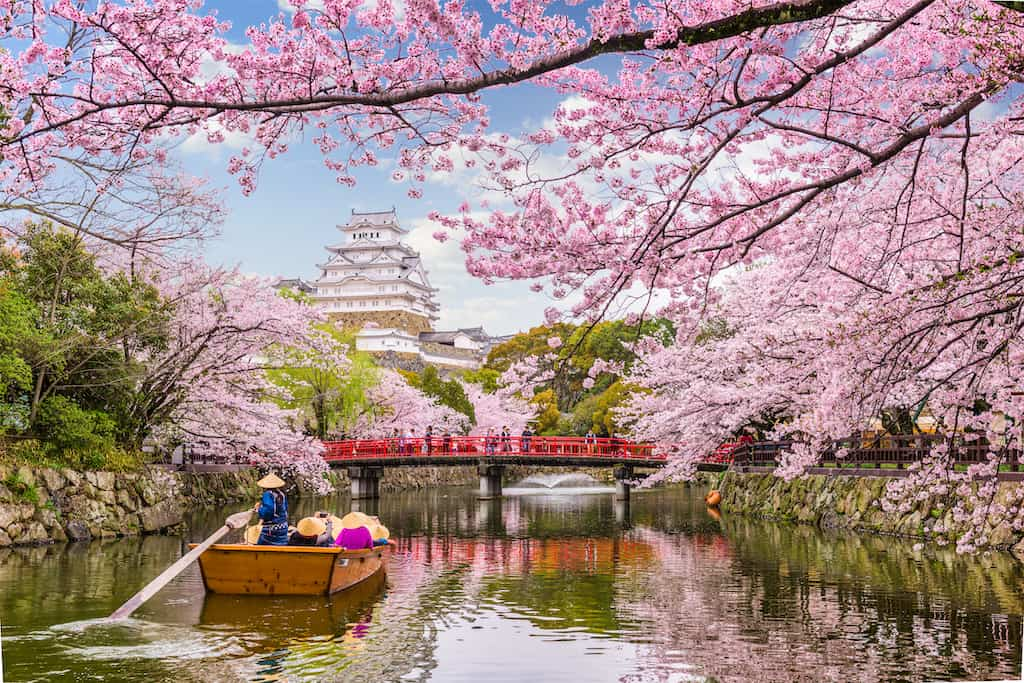 beautiful Himeji Japan