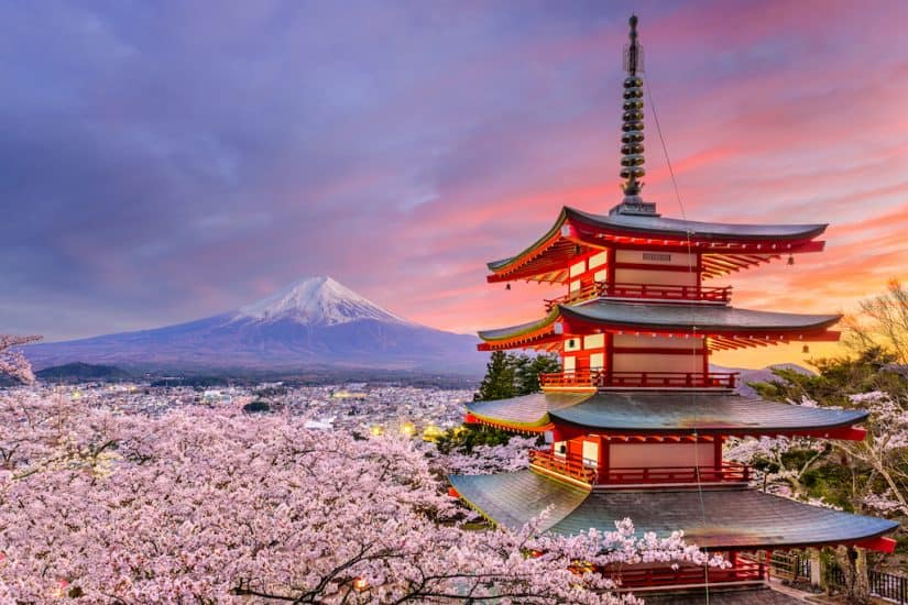 most beautiful places to visit in Japan