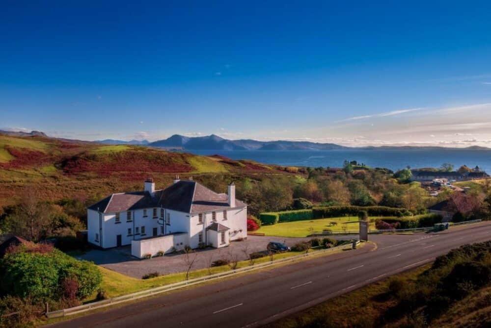 Beautiful Isle of Skye hotel