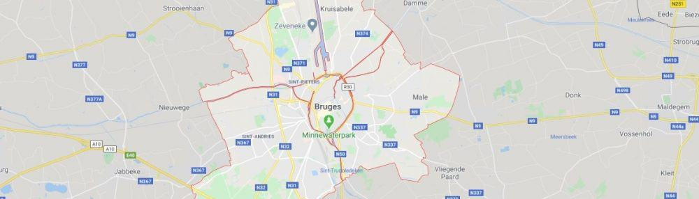 Where to find beautiful Bruges