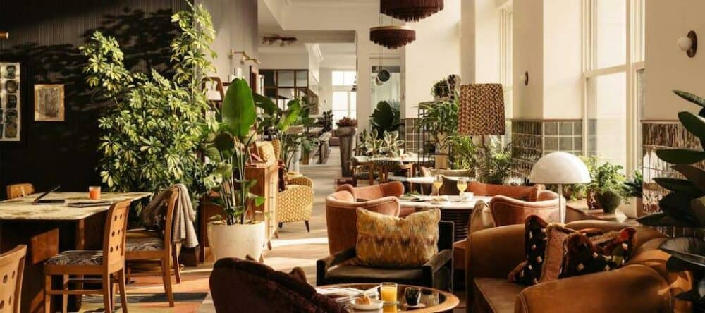 Chic boutique hotel in Los Angeles