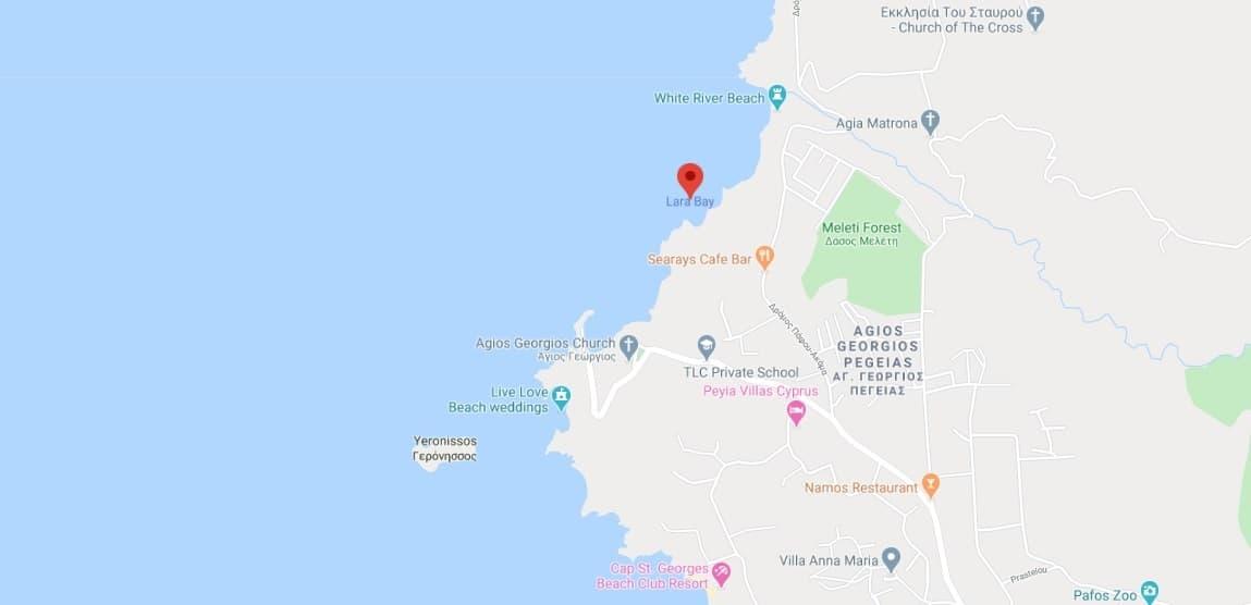 Where to find Lara Bay