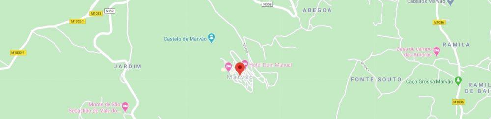 Map - where to find Marvao