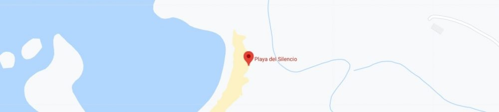 Map - where to find Playa del Silencio