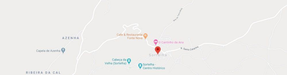 Maps - where to find Sortelha