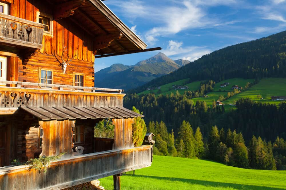 Alpbach Austria - fantastic places to visit in Austria