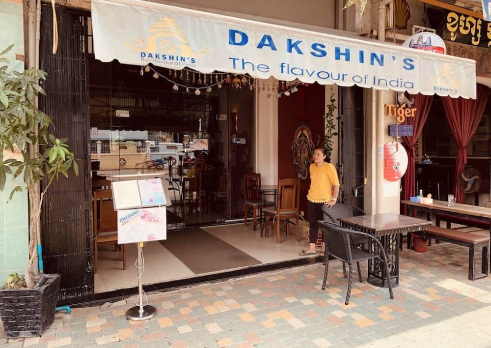 Dakshins Indian Restaurant Siem Reap