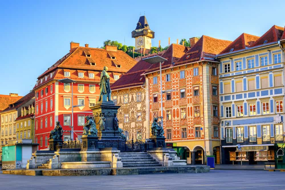 Graz Austria - great places to explore in Austria