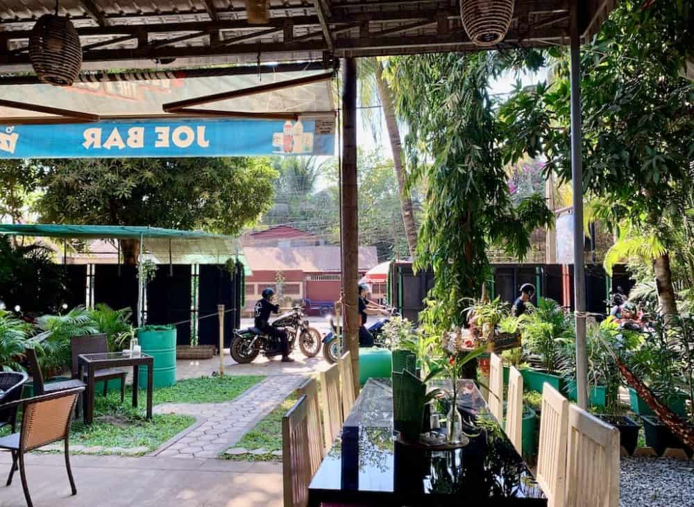 Joe Bar and Grill Siem Reap Cambodia