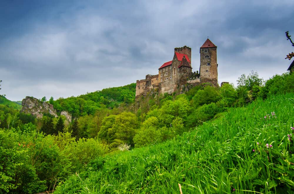 Nice scenery of Thayatal Austria