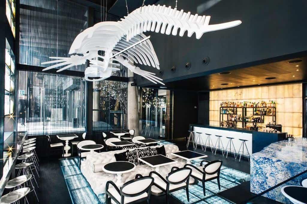 Trendy hotel in Madrid