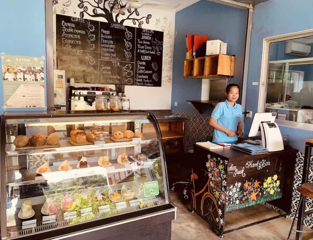 Visit Bayon Pastry School siem Reap