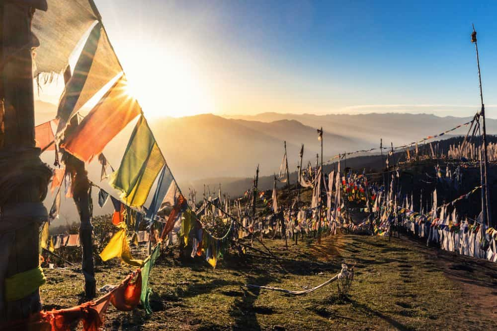 Chele la Pass - most beautiful places to visit in Bhutan