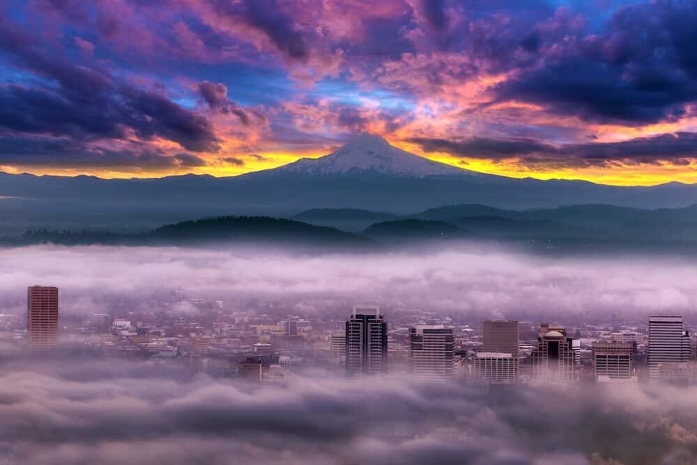 Beautiful Portland Oregon