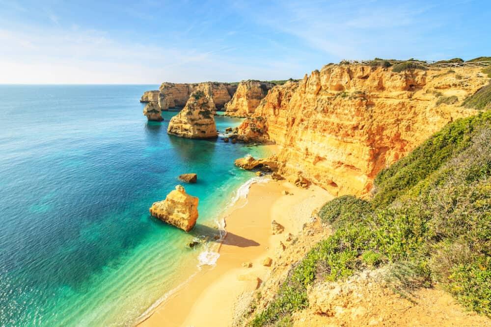 Praia da Rocha - most beautiful beaches in Portugal